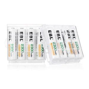 EBL 808A 8 acus chargeur de piles test
